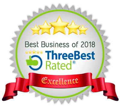 Best Business of 2018 - Three Best Rated